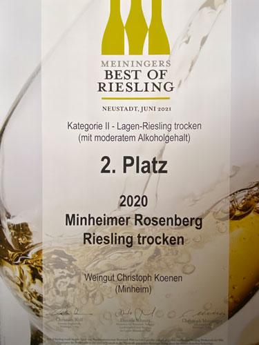 Weingut Koenen - Best of Riesling 2020